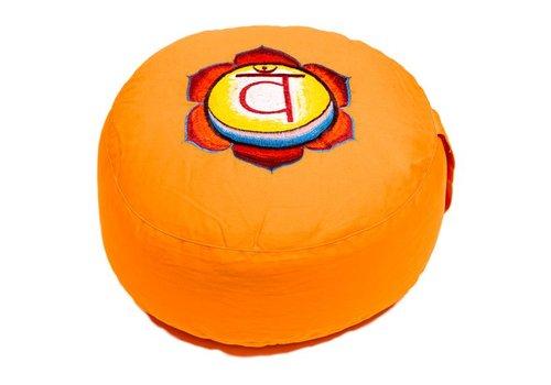 Fine Asianliving Meditatiekussen chakra oranje
