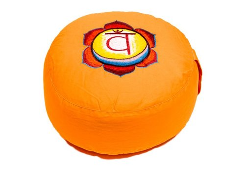 Fine Asianliving Meditation cushion chakra orange