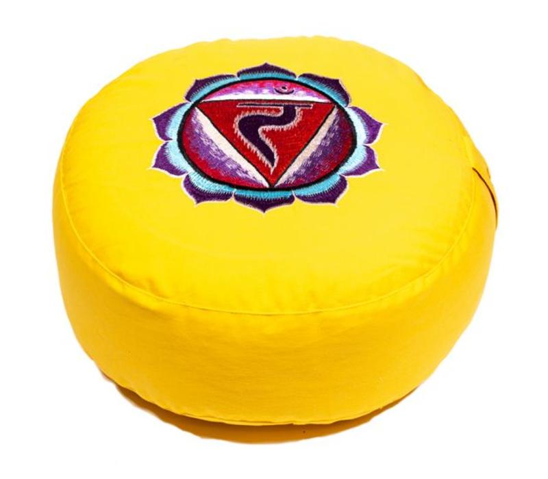 Cojín de Meditación Chakra Amarillo