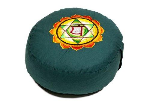 Fine Asianliving Meditatiekussen chakra groen