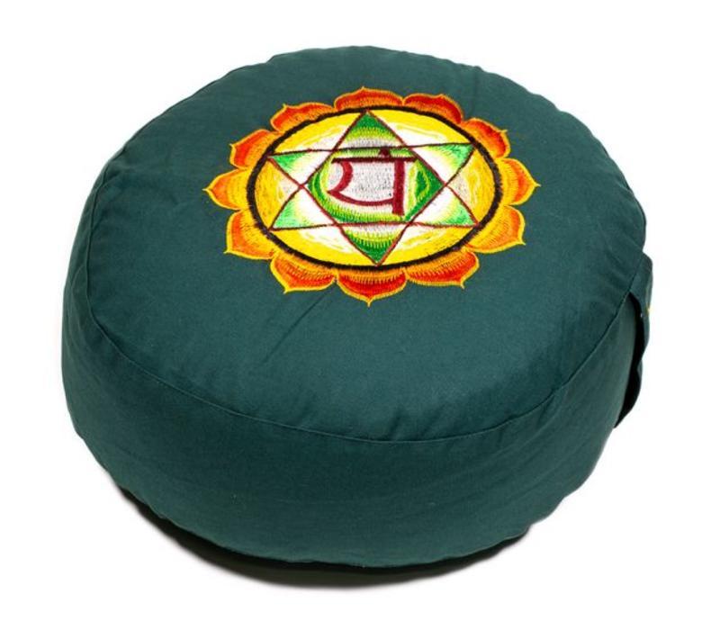 Meditatiekussen chakra groen