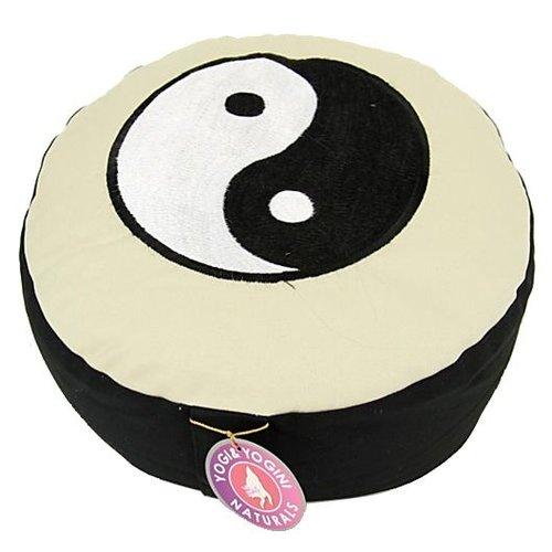 Meditatiekussen ZW yin en yang