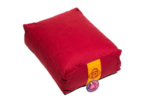 Fine Asianliving Meditation cushion red
