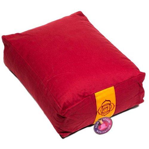 Meditation cushion red