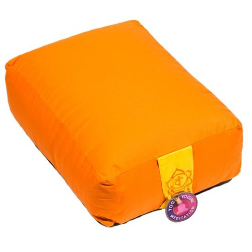 Meditation cushion orange
