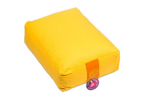 Fine Asianliving Meditation cushion yellow