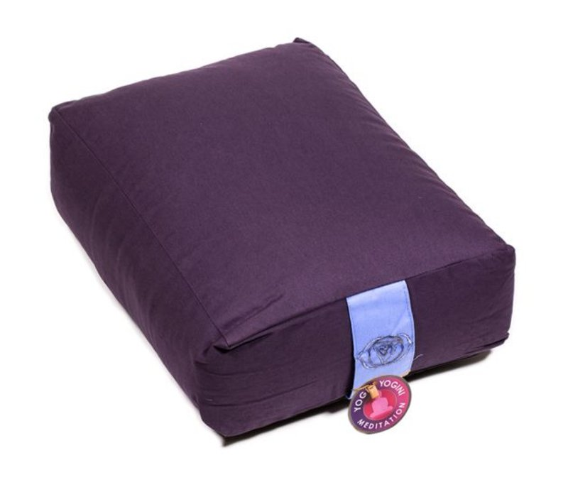 Meditation cushion lilac