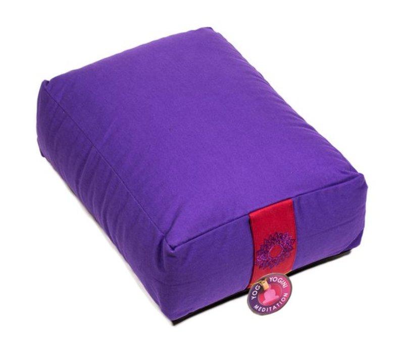 Meditation cushion violet