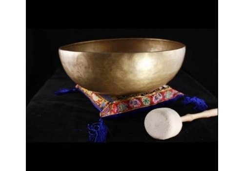 Fine Asianliving Singing bowl De-Wa 275-425gr 12cm