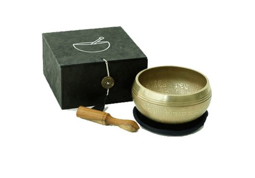 Fine Asianliving Ohm klankschaal giftset zwart 300gr set/3