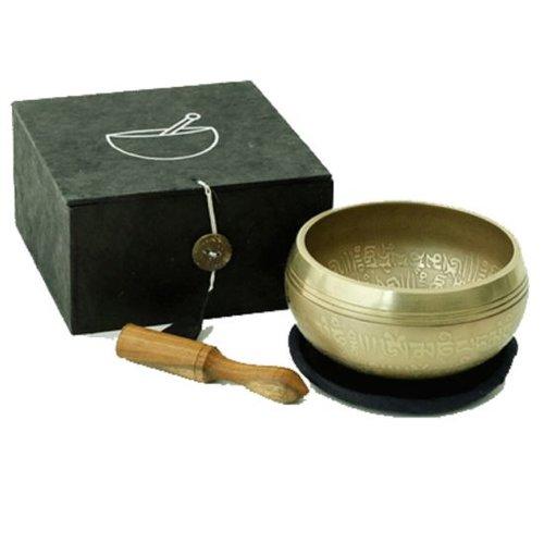 Ohm singing bowl gift set black 300gr set / 3