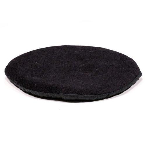 Klankschaalkussen zwart 15cm