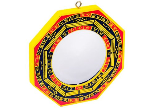 Fine Asianliving Bagua mirror hollow