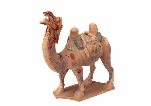 Fine Asianliving Pottery yellow camel
