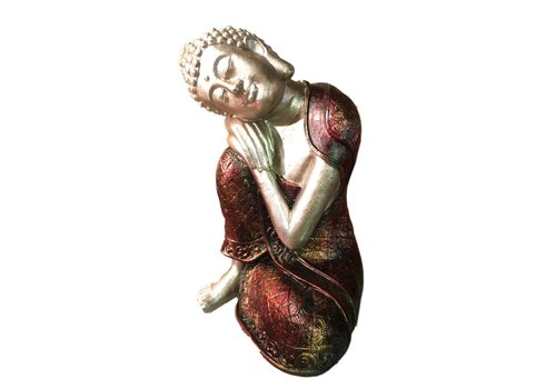 Fine Asianliving Sleeping Buddha from Burma M