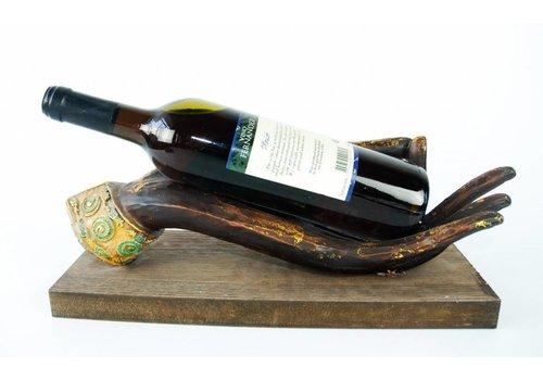 Fine Asianliving Wine holder Buddha hand