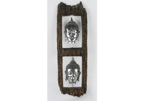 Fine Asianliving Buddha Head Wall Decoration