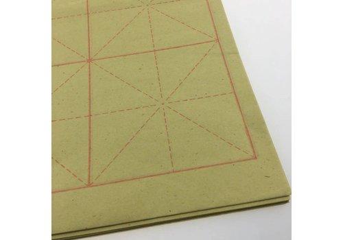 Fine Asianliving Chinese Kalligrafie Papier met Raster Voor Beginners