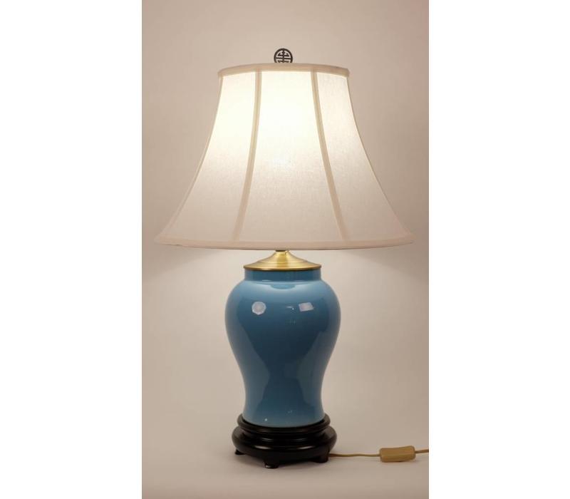 Oosterse Tafellamp Porselein Blauw