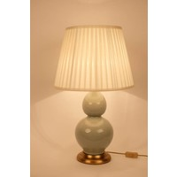 Oriental Porcelain Table Lamp Mint