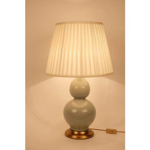 Fine Asianliving Oriental Porcelain Table Lamp Mint