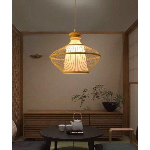 "PREORDER WEEK 30 Fine Asianliving Bamboe Hanglamp Handgemaakt - ""Ophelia"""
