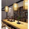 Fine Asianliving Bamboe Handgevlochten Hanglamp