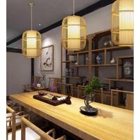 Fine Asianliving Plafonnier Luminaire Luminaire Abat-Jour Bambou Fait Main - Dior