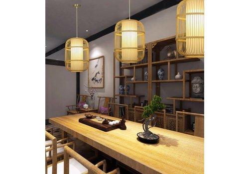"""Fine Asianliving Bamboe Hanglamp Handgemaakt -  """"Dior"""""""