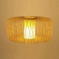 Deckenleuchte Pendelleuchte Beleuchtung Bambus Lampenschirm Handgefertigt - Noelle