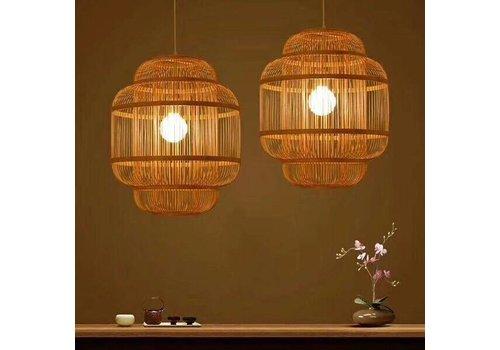 """Fine Asianliving Preorder Week 13 Bamboe Hanglamp Handgemaakt - """"Evon"""""""