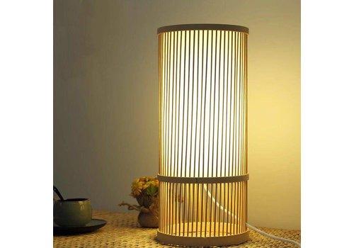 Fine Asianliving Preorder Week 13 Bamboe Tafel Bureau Lamp