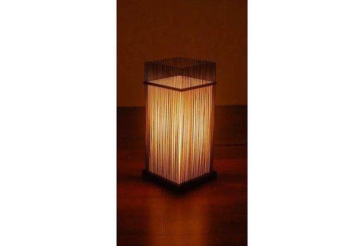 Fine Asianliving Bamboe Tafel Bureau Lamp