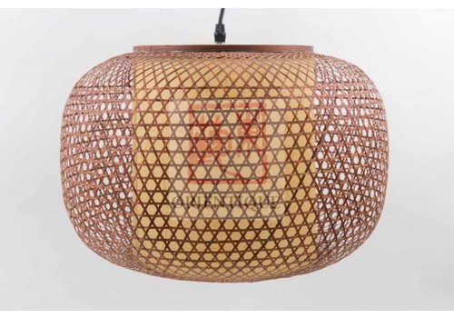 """Fine Asianliving Fine Asianliving Japanse Bamboe Hanglamp Handgemaakt - """"Vera"""""""
