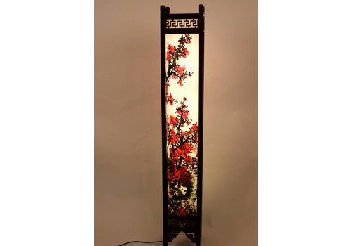 Fine Asianliving Fine Asianliving Chinese Floor Lamp Hand Painted  Rice Paper Sakura