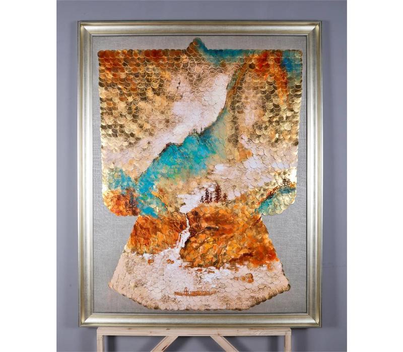 Oosters Wanddecoratie Chinees Landschap 1200x1500mm
