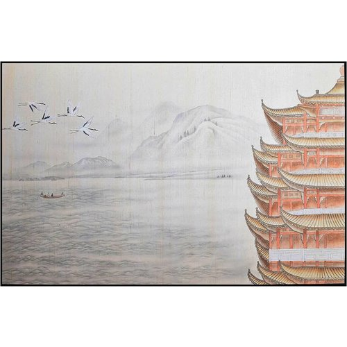Oriental Painting Pagoda