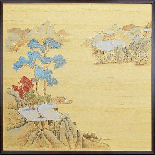 Oriental Painting Japanese Landscape