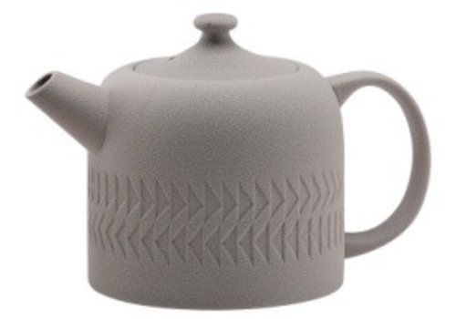 Fine Asianliving Light Gray Teapot