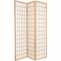 Fine Asianliving Japans Kamerscherm L135xH180cm Shoji Rijstpapier 3 Panelen - TANA/N3