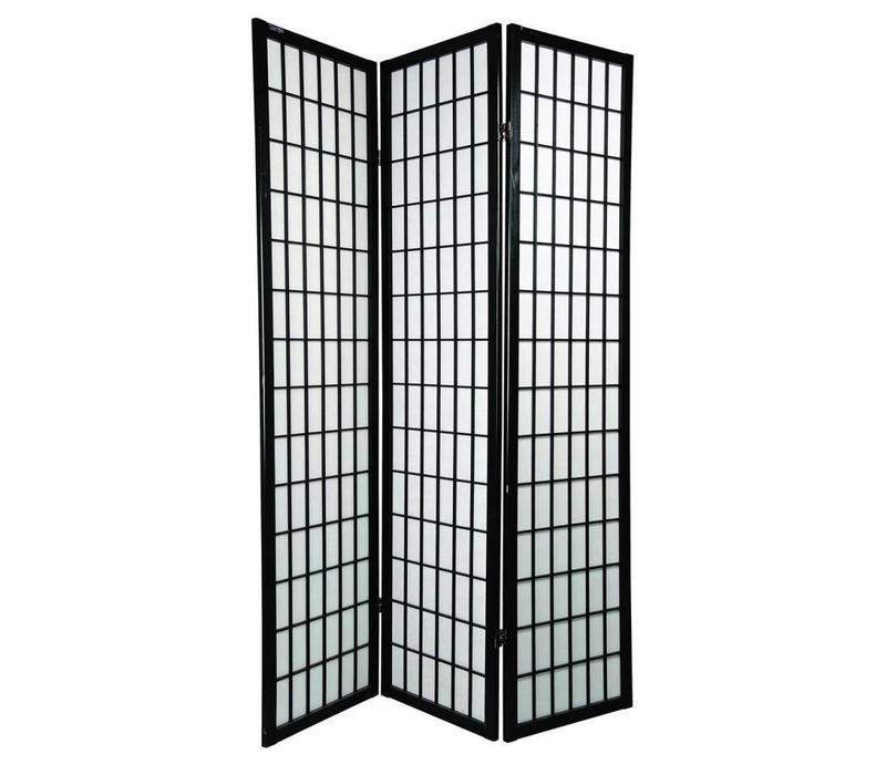 Fine Asianliving Japanese Room Divider L135xH180cm Privacy Screen Shoji Rice-paper 3 Panel - TANA/B3