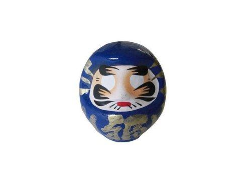 Fine Asianliving Daruma 9 cm blue