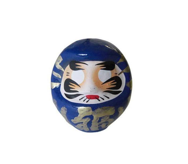 Daruma 9 cm blue