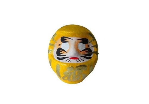Fine Asianliving Daruma 9 cm Yellow