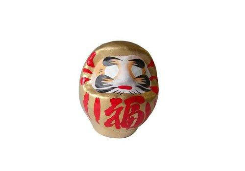 Fine Asianliving Daruma 9 cm Gold