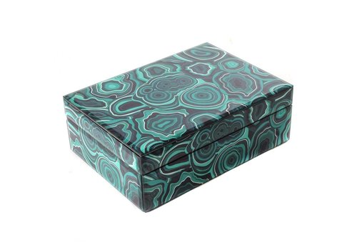 Fine Asianliving Jewelery box Malachite