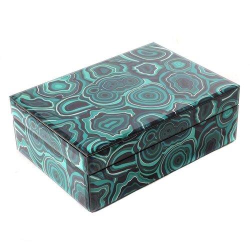 Jewelery box Malachite