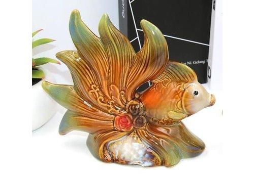 Fine Asianliving Goldfish Pottery