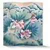 Fine Asianliving Chinees Kamerscherm 4 Panelen Roze Lotus Libelle