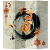 Fine Asianliving Chinees Kamerscherm Oosters Scheidingswand B160xH180cm 4 Panelen Ouroboro